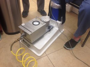 Circulator Boot Therapy in action at Delray Beach Podiatry.