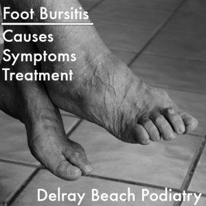 Foot Bursitis Treatment at Delray Beach Podiatry [Image via MorgueFile.com]